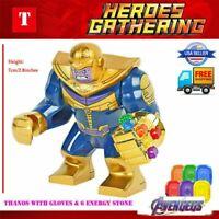 Thanos Marvel Super Heroes thanos Mini Figures Avengers Superhero Minifigures