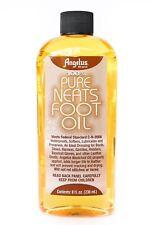 Angelus Pure Neats Foot Neatsfoot Oil Liquid Waterproof 8 oz