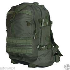 Survival Backpack OD Olive Drab Fox Outdoor Tactical Large 3-Day Military NEW