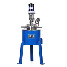 Stainless Steel High Pressure Reactor Autoclave Vessel 22mpa 350c Heating Temp