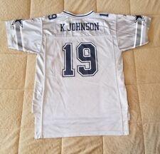 Keyshawn Johnson Dallas Cowboys #19 Youth Nfl Football Jersey Size Xl (18-20)