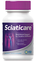 60 ct Sciaticare Sciatica Pain Relief Lower Lumbar Nerve Helps Regenerate Nerves