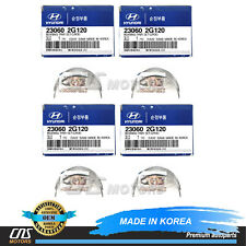 GENUINE Connecting Rod Bearings 4PACK for 06-13 Hyundai Kia 2.0L 2.4L 230602G120