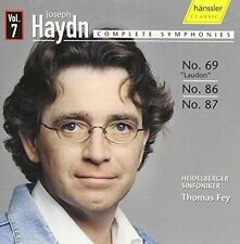 Joseph Haydn Complete Symphonies Vol. 7 (fey Heidelb CD
