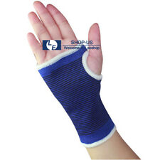 New 2pcs Elastic Wrist Brace Palm Hand Support Protector Sport Bandage Gym Wrap