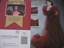 Franklin Heirloom Doll AD / SCARLETT O'HARA Red Gown Advertisement