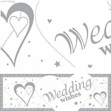 Wedding Plastic Party Banners, Buntings & Garlands