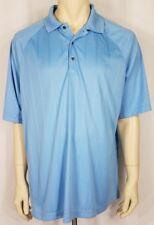 Ping light blue short sleeve casual golf polo shirt mens 2XL XXL