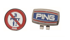 PING Japan Golf Ball Marker Clip type with Magnet NO3 AC-U194