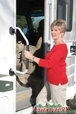 Lend-a-Hand Outside Folding Door Assist Grab Handle White RV Camper Motorhome