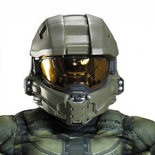 HALO Master Chief Child Kids Full Deluxe Costume Helmet | Disguise 89995