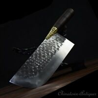 5Cr15MOV Steel Chef slicer chip knife Authentic Longquan Kitchen Knife 350g#1237