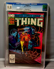 THING # 2 - CGC 9.8 - MARVEL 8/1983 - OFF WHITE TO WHITE PAGES