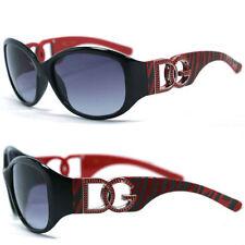 lunette de soleil Femme DG zebré rouge