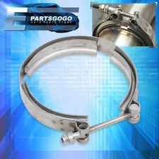 "4"" S/S 304 V-Band Clamp Stainless Steel 4 Inch For Turbo Exhaust Downpipes"