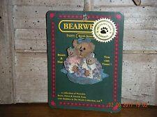 Boyds Bears 2003 ~Momma Caresalot W/Scoots & Toots~ Bearwear Pin Style# 82528