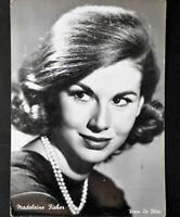 madeleine fischer vera fotografia photo cartolina postcard anni 50 swiss actress