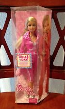 2009 FASHION FEVER BARBIE & ME PINK SWEATER & SWEATPANTS DOLL