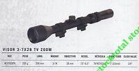 Visor telescopico gamo GAMO 3-7X28 TV ZOOM VE37X28TV G
