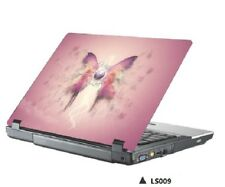 "15.4"" 15.6"" LAPTOP SKIN STICKER COVER VINYL DECAL PROTECTION Pink Butterfly"