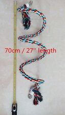 Big Cotton Rope Parrot Toy Parakeets Cockatiels Toys Bird Toy With Bell T048