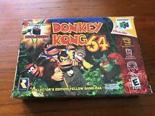 Donkey Kong 64 (Nintendo 64, 1999) CIB (no expansion pak), Tested, Great Cond!