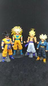 Bandai Dragonball Z HG Series Gashapon Figure Son Goku Trunks Gogeta Set of 4