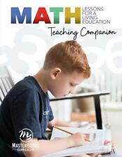New Math Lessons For A Living Education Teaching Companion Teacher Guide Gr K-5