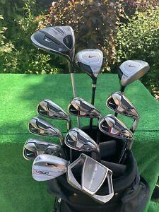 Lovely Men's RH Nike VRS Golf Set Irons Woods Bag Regular Flex ⛳️⛳️