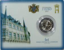 2 Euro Commémorative de Luxembourg 2017 Brillant Universel (BU) - Guillaume III