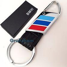 BMW M Sport Key Ring with box M3 M4 M5 M135i 1M Fob E92 E46 E36 F82 Bundle Black