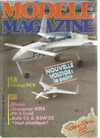 MODELE MAG N°411 SUPER DISCUS DE GRAUPNER / OS 28 F-H SPECIAL HELICO / JR 4014
