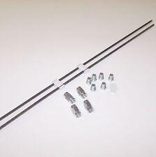 Bremsleitung Reparatur Reparatursatz 2 x 0,5 m 6 Muttern + 4 Verbinder + Halter