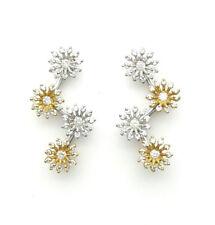 Orecchini Recarlo in oro bianco e rosa 18 ct con diamanti  ZR 708/1B