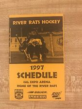 1997 Sacramento River Rats Hockey Schedule  Roller Hockey International