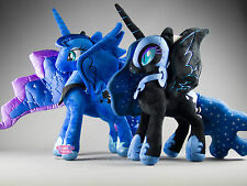 My Little Pony Princess Luna & Nightmare Moon Plush Bundle UK Stock High Quality