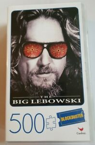 """NEW """"The Big Lebowski"""" 500 Piece Puzzle In Plastic Case By Cardinal Blockbuster"""