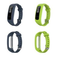 2pc Silicone Replacement Wrist Wrist Strap for Huawei band 4 Running 3e 4e