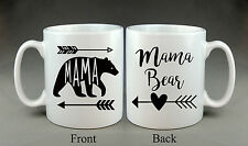 BELLISSIMO MAMA Bear TAZZA MOTHER'S DAY MAMMA MAMMA MOM REGALO
