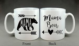 Beautiful Mama Bear Mug Mother's Day Mummy Mum Mom Present Gift
