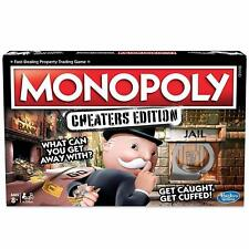 Monopoly Cheaters Edition Follow Bend Break Rules Family & Friends Board Game