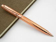 JINHAO OFFICE Grid design NEW ROSE GOLDEN Trim METAL Ballpoint Pen