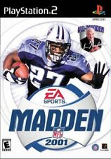 MADDEM NFL 2001 ITA Playstation 2 PS2 NUOVO GIOCO ORIGINALE FOOTBALL EA SPORT