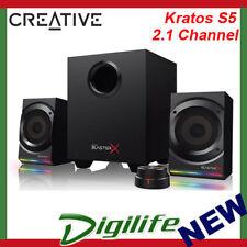 Creative Sound BlasterX Kratos S5 2.1 Channel Speaker System