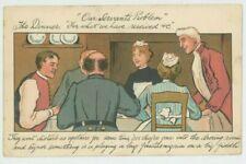 Our Servants Problem, 1903 Hartmann Comic Postcard, C046