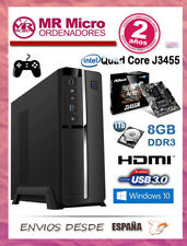 Ordenador Sobremesa Intel Quad Core J3455M/ 8GB RAM/ 1TB/ HDD/ USB 3.0/ HDMI