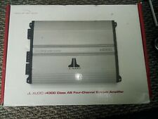 NICE JL Audio e-Series e4300 4 Channel Car Amplifier BRAND NEW Never Installed