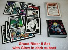 GHOST RIDER II Complete Set     with all 10 Glow in the Dark cards