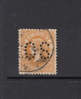 VICTORIA: 1905 3d Dull Orange-buff SG 420b, Perf OS with variety BW V81, f/used