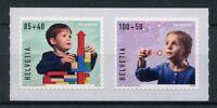 Switzerland 2018 MNH Pro Juventute Happy Childhood 2v S/A Set Toys Stamps